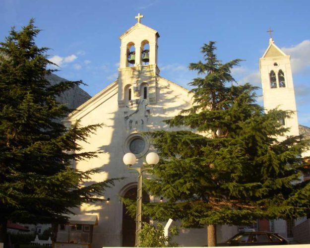 Церковь Святого Николая в Башка Воде