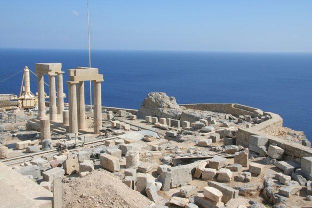 Родос Акрополь в Линдосе