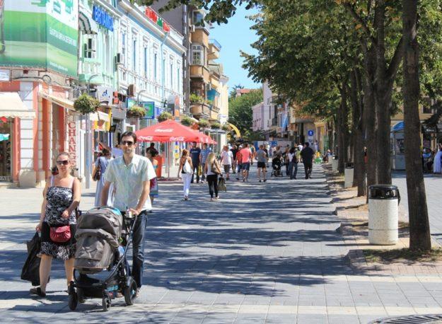 Улицы Бургаса