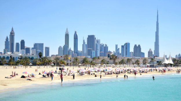 Дубай пляжи