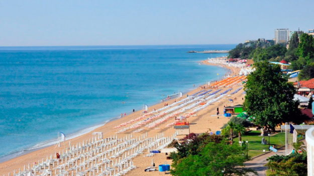 Курорт Золотые пески пляжи