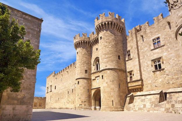 Родос Родосская крепость