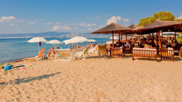 Салоники пляж Переа