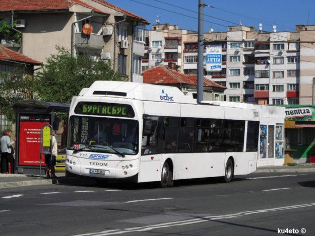 Транспорт Бургаса
