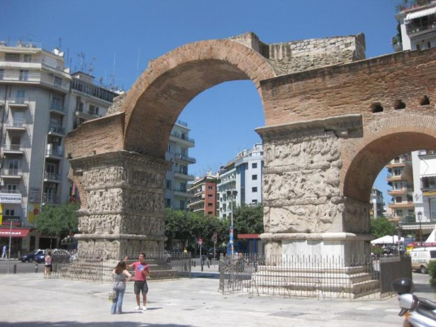 Салоники Триумфальная арка Камара