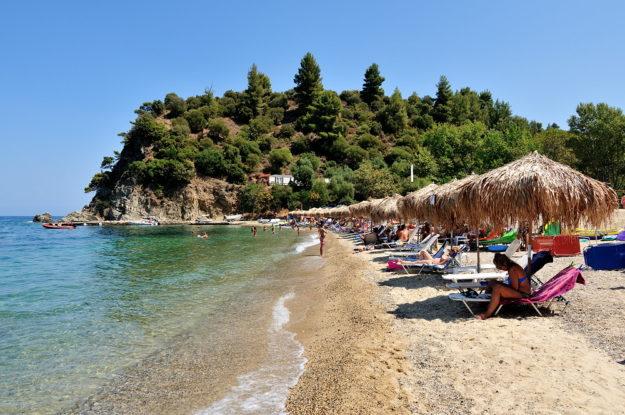 Халкидики пляж