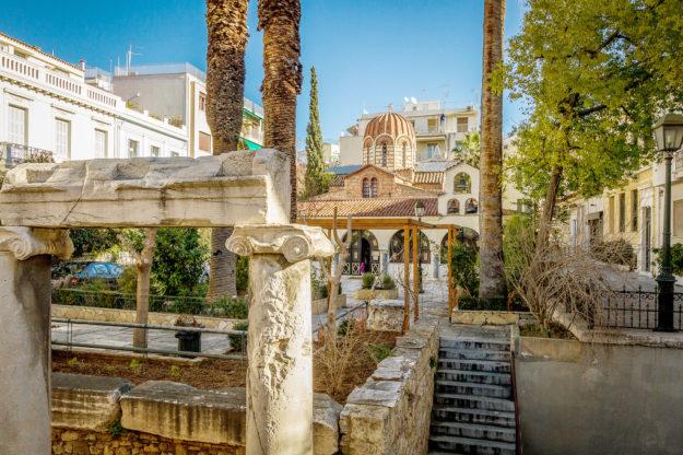 Афины исторические