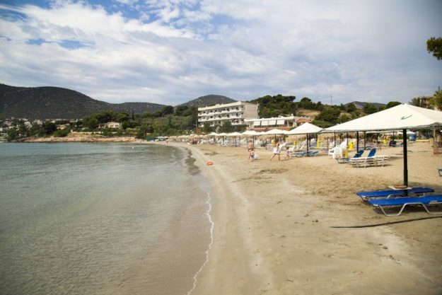 Афины пляж Вула
