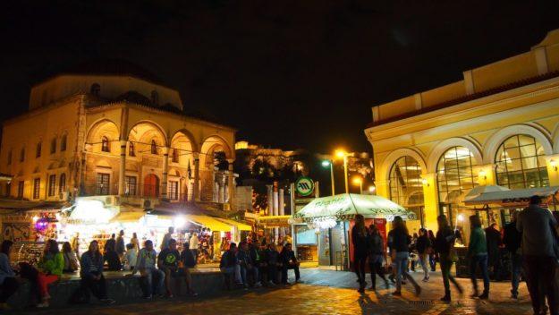 Афины – центр ночной жизни Греции