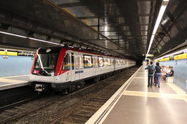Барселона метро
