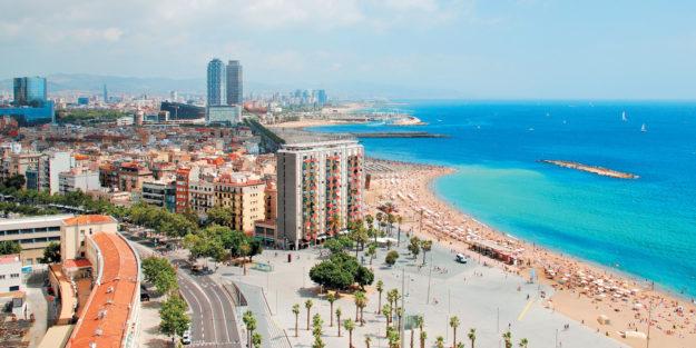 Барселона пляжи