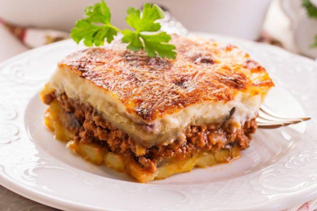 Горячее блюдо Греции – Мусака