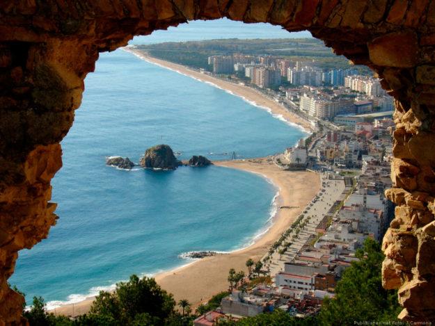 Испания побережье Кости-Дорадо