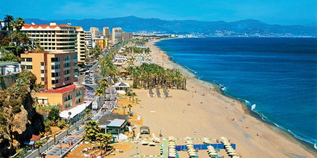Испания поберже Коста-дель-Соль