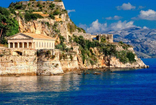 Корфу история острова