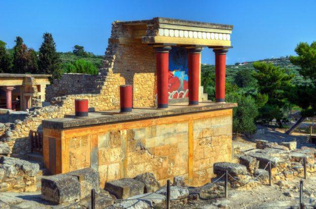 Крит Кносский дворец