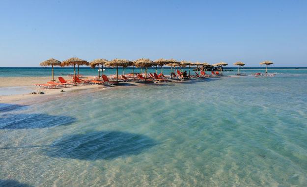 Крит пляж Элафониси