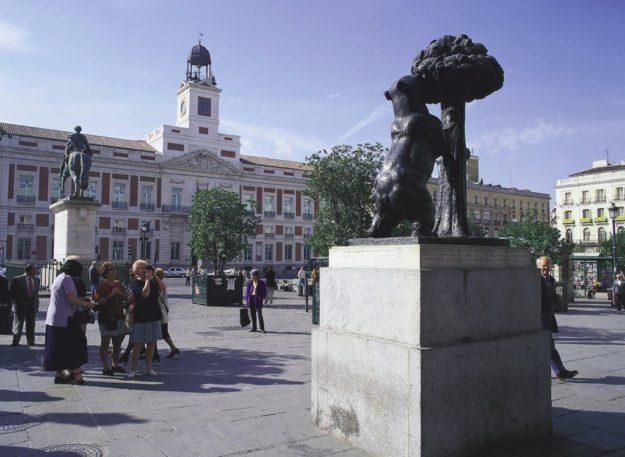 Мадрид площадь Пуэрта-дель-Соль