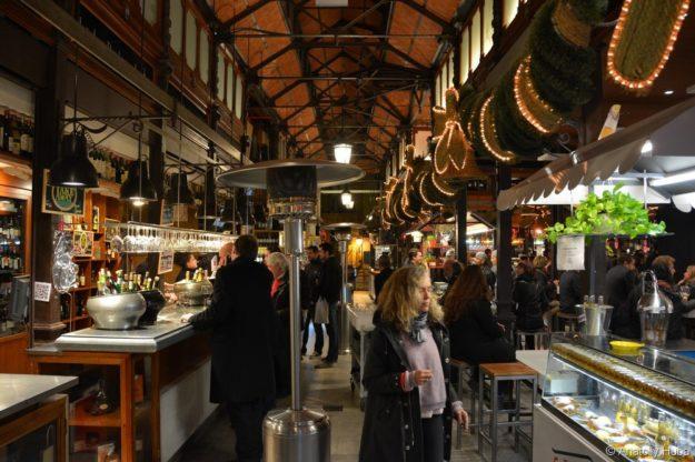 Мадрид рынок Сан Мигель