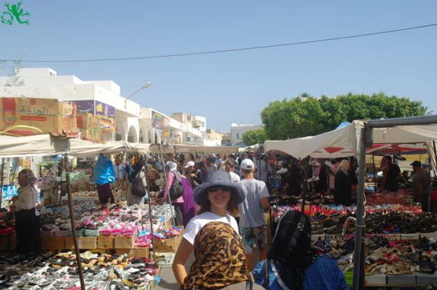 Махдия арабский рынок