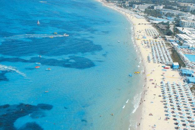 Махдия пляжи