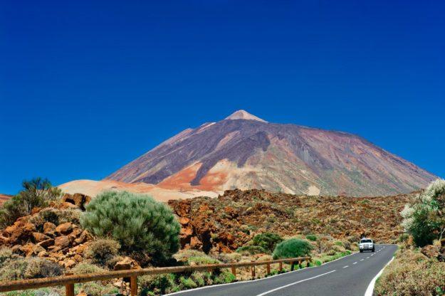 Тейде - вулкан на острове Тенерифе