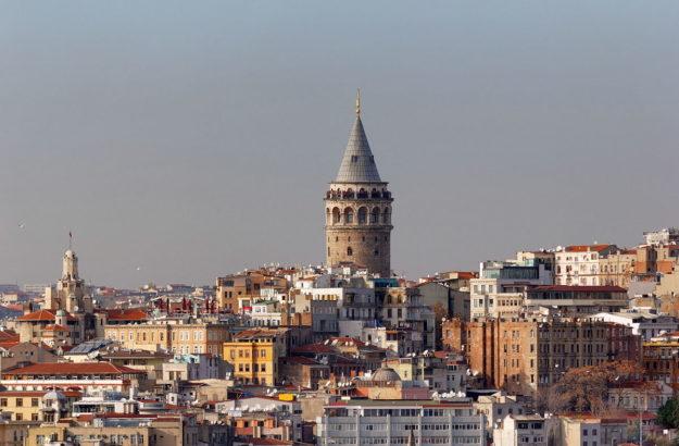 Стамбул Галатская башня