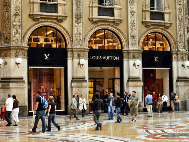 Милан модные кварталы