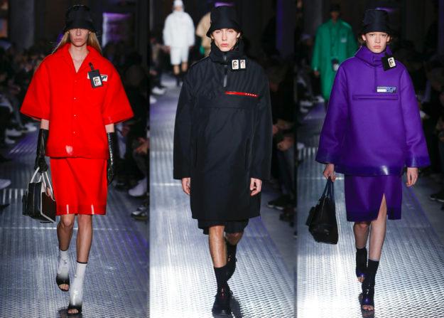 Милан показ мод осень зима 2018-2019