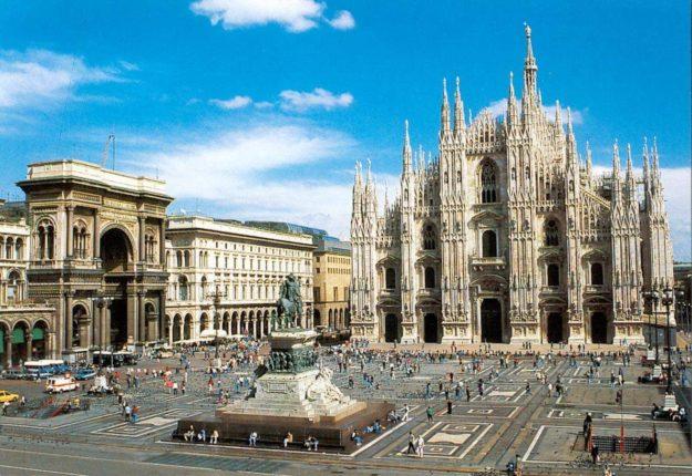 Милан собор Дуомо