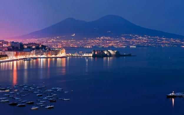 Неаполь вечерний