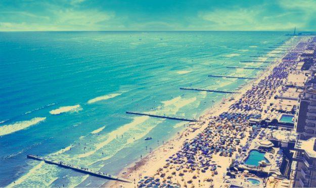 Пляжи в Венеции