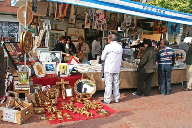 Рим блошиный рынок