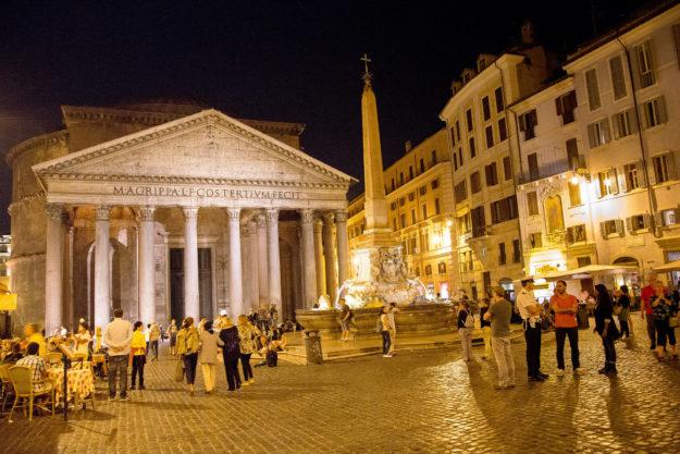 Рим ночной