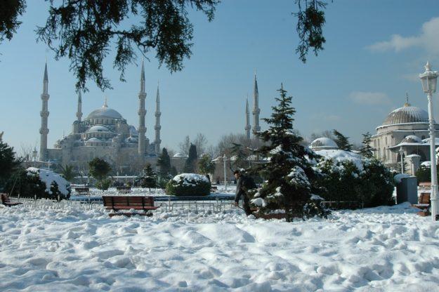 Стамбул зима