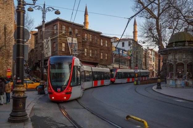 Стамбул Трамваи