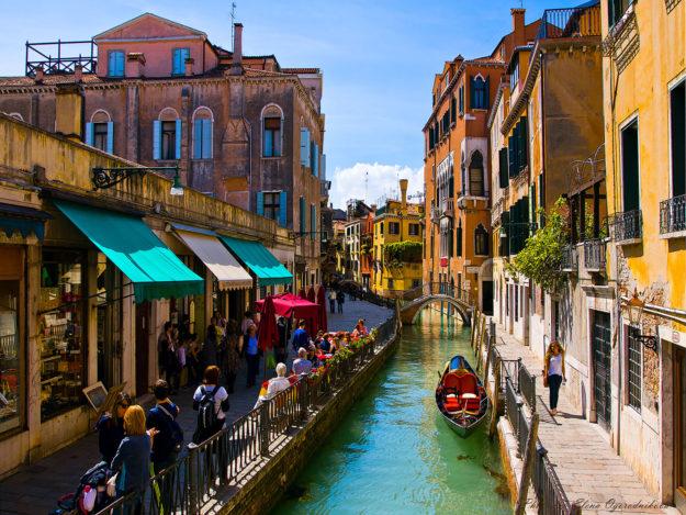 Улицы в Венеции