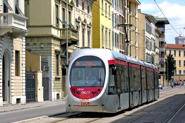 Флоренция трамвай