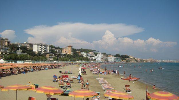 Рим пляж Остия