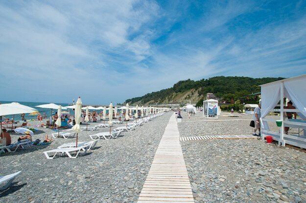 Дагомыс Центральный пляж