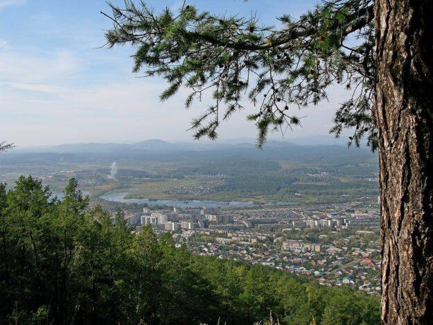 Миасс с Ильменских гор