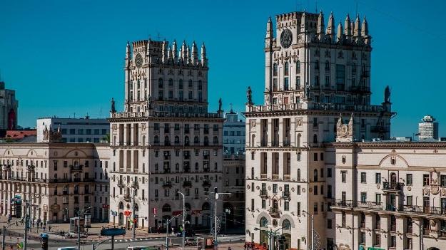 Минск Парадные ворота