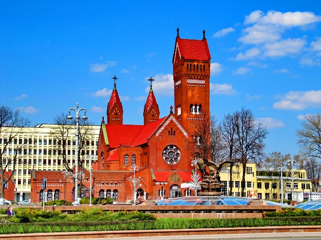 Минск Собор Святых Симеона и Елены